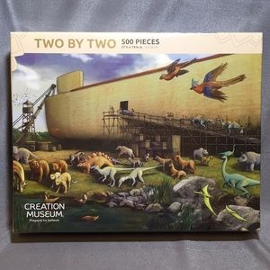 New Creation Museum Two By Two Noah's Ark Puzzle